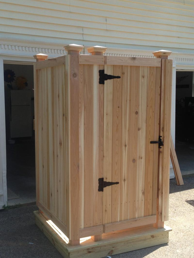 Cape Cod Outdoor Shower Company - Modular Outdoor Shower EnclosureS ...