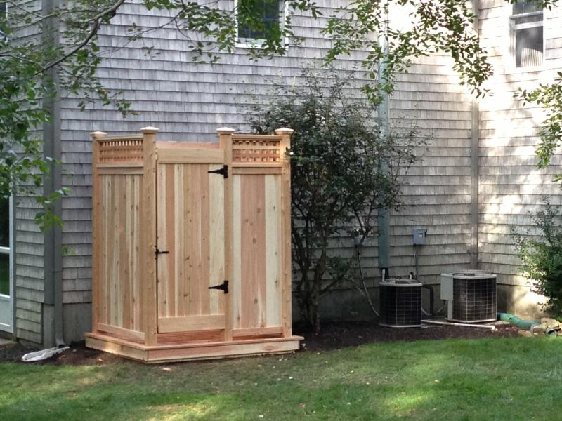 Cape Cod Outdoor Shower Company Modular Outdoor Shower