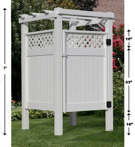 How To Make A Portable Shower Stall.html
