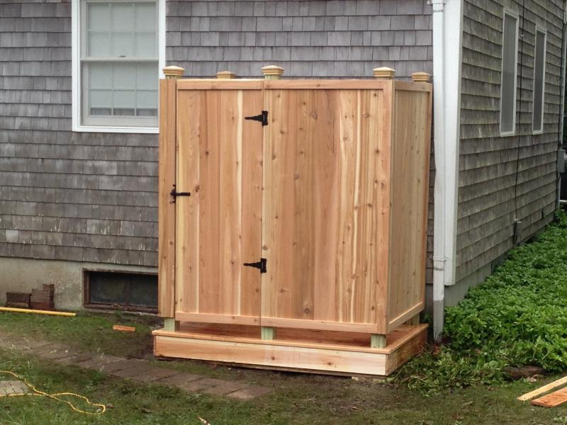 Cape Cod Outdoor Shower Company Replace Your Existing Outdoor Shower